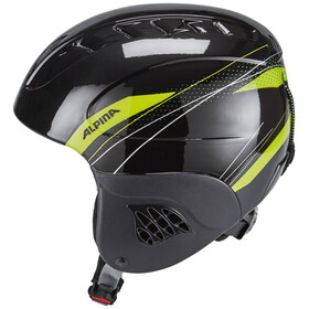 Alpina Carat Ski Helmet Kids black-green